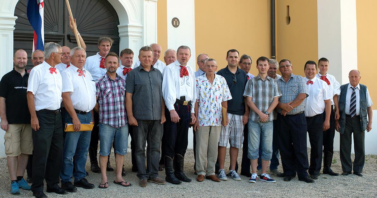 Obnoviteljsko spravišče Plemenite opčine turopoljske u starom Lukavec gradu, 11. srpnja 2015. godine