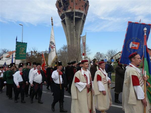 Turopoljski banderij u Koloni sjećanja za Vukovar