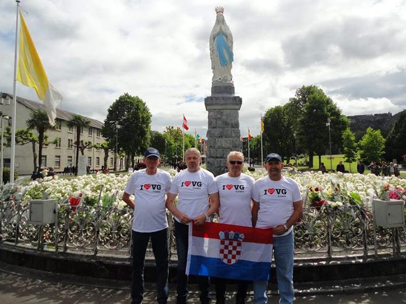 Turopoljski banderij u pripremi za drugo inozemno putovanje