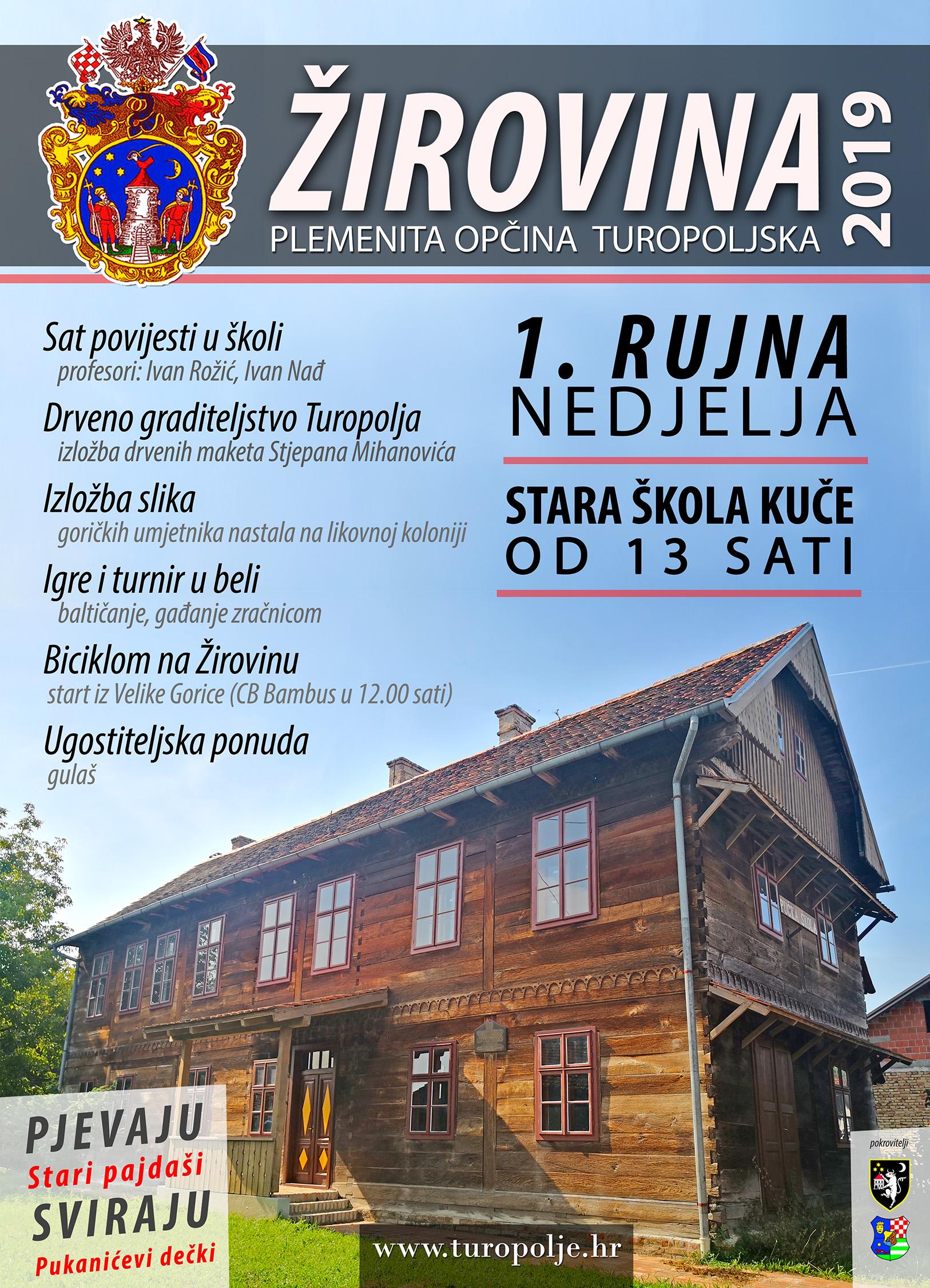 Žirovina u Kučama uz sat povijesti, izložbe drvenih maketa i slika, igre, 'baltičanje'…